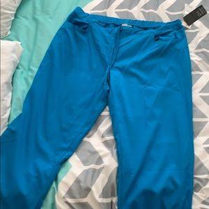 Blue scrub pants size XL Tall